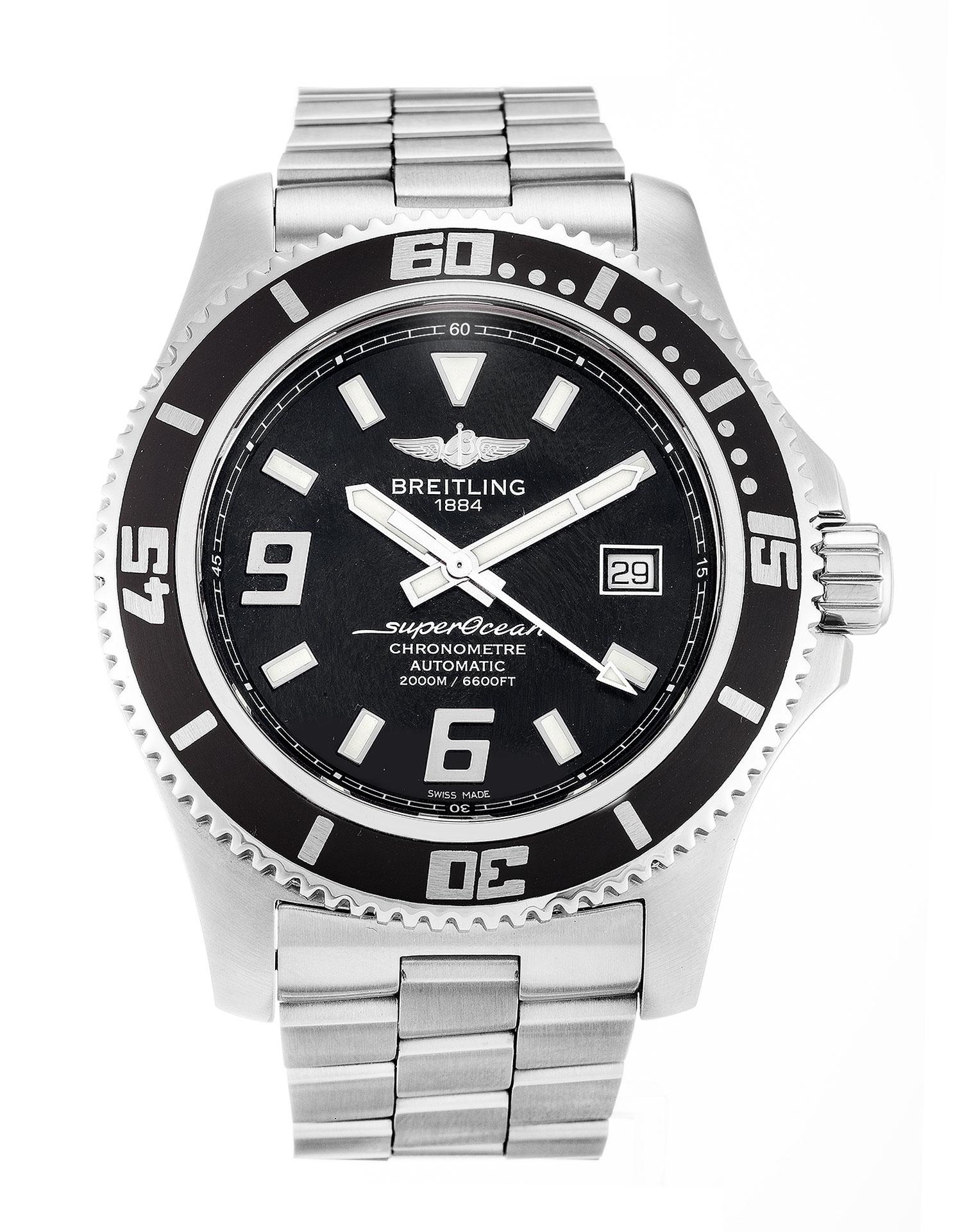 lujo falso Breitling superocean 44 reloj especial nuevas variaciones