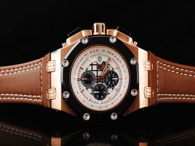 répliques guapo Audemars Piguet Código 11. 59 Reloj cronógrafo automático